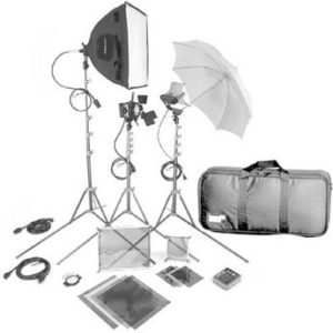 light kit for video production