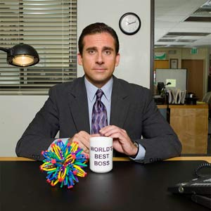 steve carell talking head shot used in tv show the office