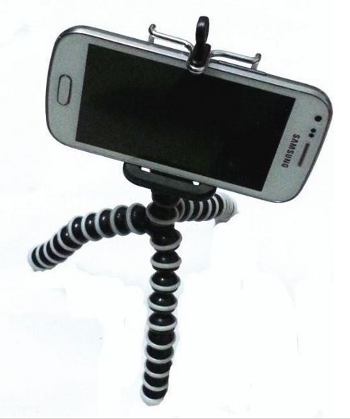 cell phone video on tripod