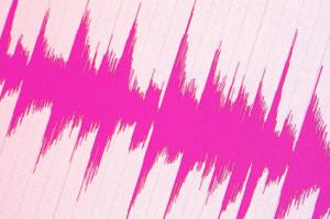 video audio waveform image