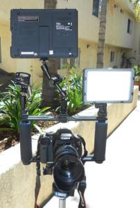 camera stabilization rig finished