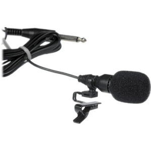 microphone with wind sock