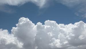clouds block sun