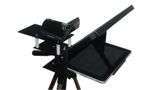 teleprompter that attaches to tablet