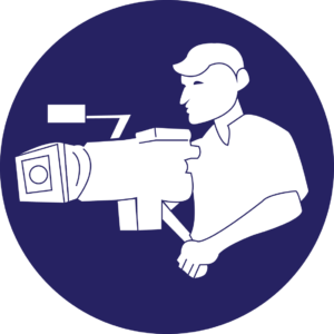 icon to represent documentary film making