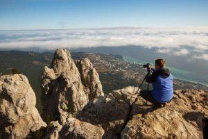 photography landscape mountain top