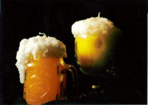 candles beer mug homemade candles