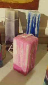 candle homemade