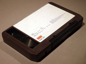 3/4 inch video tape