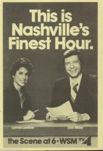 black and white ad for wsmv tv news