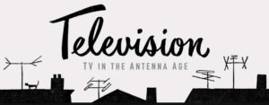 early broadcasting rooftop antennas